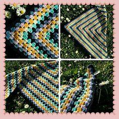 Blanket, Knitting, Crochet, Tricot, Cast On Knitting, Chrochet, Stricken, Rug, Crocheting