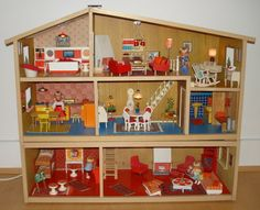 Vintage Lundby Dollhouse | This is one sweet dollhouse | Vintage toys