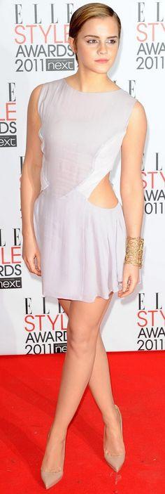 CelebrityGala: Emma Watson Legs and Toe Cleavage
