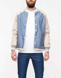 I find this really quite very appealing.  Native Youth Chambray Contrast  jacket, Coach 85bf2d0b753a