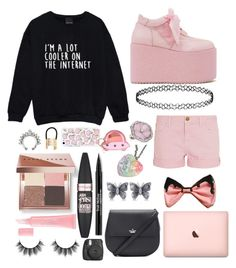 """""""Untitled #251"""" by isobelle206 ❤ liked on Polyvore featuring Y.R.U., Topshop, Current/Elliott, Bobbi Brown Cosmetics, Maybelline, Trish McEvoy, Christian Dior, Allurez, Kate Spade and MANGO"""