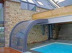 Retractable pool enclosure Veranda NEO™