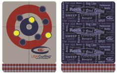 curling themed Blankets