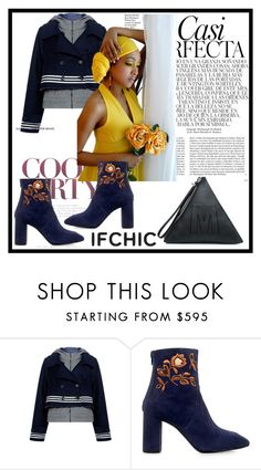 """Ifchic contest"" by irinavsl ❤ liked on Polyvore featuring Sea, New York, Eugenia Kim, McQ by Alexander McQueen, Whiteley, ifchic and worldwideshipping"