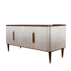 餐边柜 进口实木框架+莫桑比克木饰面 FDK310 W1820*D560*H810 mm
