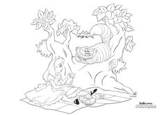 disney princess coloring pages print belle - alicec in wonderland coloring books 5 Cat Coloring Page, Disney Coloring Pages, Coloring Book Pages, Printable Coloring Pages, Coloring Sheets, Coloring Pages For Kids, Free Coloring, Disney Princess Colors, Disney Colors