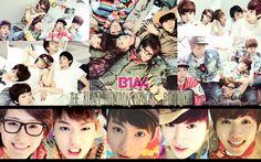 """ik ben een grote fan van de band  """"B1A4"""""""