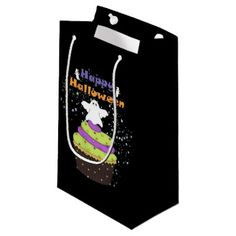 #Happy Halloween Ghosts Small Gift Bag - #Halloween #happyhalloween #festival #party #holiday