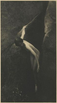 Anne Brigman, The Cleft of the Rock, 1912