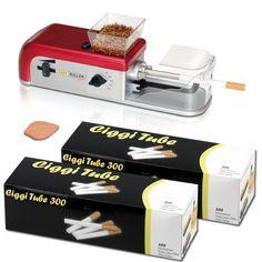 Einsteigerpaket Easy Roller Compact II + 600 Ciggi King Size Hülsen +  Hydrostone In diesem Paket enthalten sind:     1. Easy Roller Compact II      Die elektrische StopfmaschineEasy Roller Compact II besitzt,...