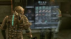 Dead Space in-game UI again (thewitcher, 2012)