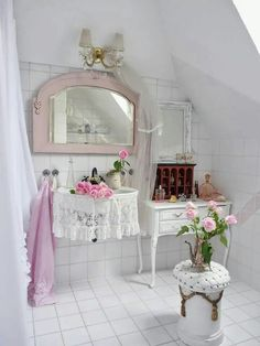 shabby cottage chic shelf and more bathroom makeover pics for the lve of white pinterest shabby cottage cottage chic and shabby - Bathroom Decorating Ideas Shabby Chic