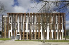 Gallery of Versailles Saint Quentin University Students Headquarters / Fabienne Bulle architecte & associés - 1