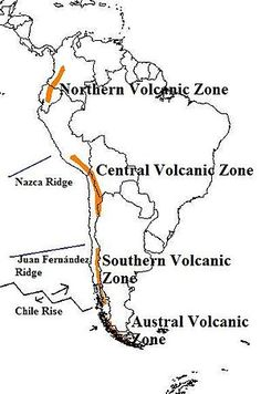 The Andes' Volcanic Belt.