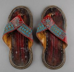 Leather shoes Body Adornment, British Museum, African Dress, Leather Shoes, Ornament, Footwear, Dance, Sandals, Fashion