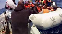 Cerca de 3.500 inmigrantes rescatados en un solo día en aguas del Mediterráneo