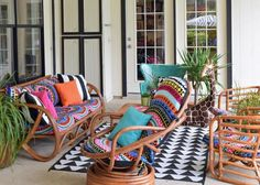 Make outdoor slipcovers from beach towels >> http://www.diynetwork.com/how-to/make-and-decorate/upcycling/how-to-make-outdoor-slipcovers-from-beach-towels?soc=pinterest