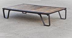 Vintage Industrial Moldmaker's Table by brandmojointeriors ($200-500) - Svpply