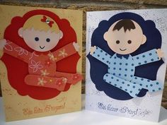 baby boy and girl punch art - bjl