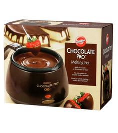 Wilton Chocolate Pro Electric Melting Pot by Wilton new 3299 2554 29 used new from the Most Wished For in Fondue list for authoritative information on this products current rank love it Wilton Candy Melts, Wilton Cake Decorating, Wilton Cakes, Melting Pot, Candy Making, Chocolate Covered Strawberries, Melting Chocolate, Dipping Chocolate, Chocolate Desserts