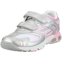Geox Girl's Ascari 2 Sneakers, Pink/Silver, 38 EU (5.5 M US Big Kid) $70.00