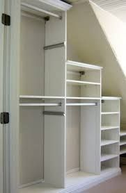 slanted ceiling closet design - Google Search