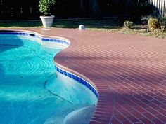 brick pool detail - photographedheather moll-dunn landscape