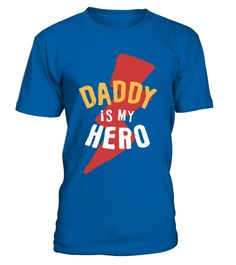 Daddy is my Hero  #gift #idea #shirt #image #music #guitar #sing #art #mugs #new #tv #cool  #husband #wife