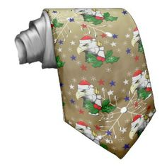 Christmas Eagle Neckties