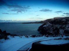 Calum's Road in the snow