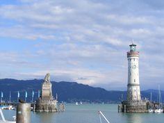 Hafentot Lindau Bodensee Bavaria Germany Lake Constance