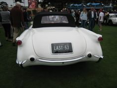1953 Corvette ~ At Pebble Beach ~ courtesy of ZipQuote.com  (my dream car)