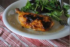 Baked Tangy  Sweet Mustard ChickenLegs