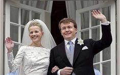 Prince Johan Friso and his wife Princess Mabel Photo: EPA