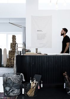 i like the laundry basket...   The Shop Of The New, Copenhagen
