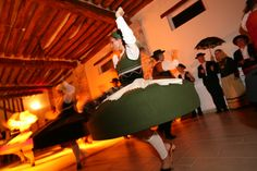 Look how these Portuguese dancers spin right!