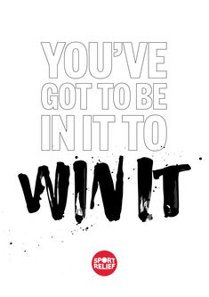 Turn your can'ts into cans for Sport Relief 2018. You're one step closer to realising your potential. Sport Relief is all about getting students feeling good while they do some good. This year, our theme is 'Whatever Moves You' and there are all sorts of ways your school can make a difference. Download your FREE Printable motivational poster by simply tapping the Pin on a desktop, get the students to decorate them and pop them up around your school.