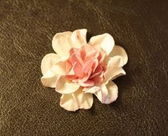 Flower Tutorial ~ Making Water Distressed Cardstock Blooms!! There are several tuts on this page