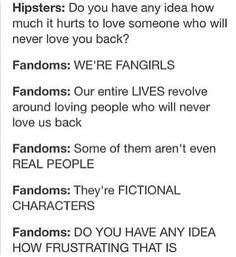 We're fangirls/fanboys - of course we understand!  ~Samantha the Legendary Narnian Avenger