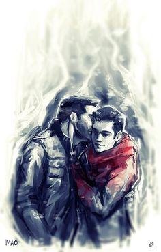 » Sterek. Derek & Stiles. [18+]