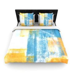 KESS InHouse Color Combo by CarolLynn Tice Featherweight Duvet Cover Size: