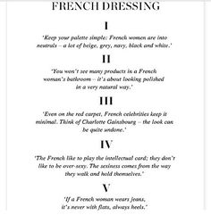 how to be parisian wherever you are - Google Search