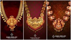 We've found a collection of antique jewellery that'll make you stand out at any function. Crafted with love and excellence, the intricate designs capture your heart at the first glance. Creations Jewellery based in Bangalore brings you necklaces made to inspire, instantly adding to your bridal outfit.
