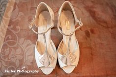 Vintage Wedding Shoes by Fuller Photography by fullerphotographyweddings, via Flickr