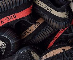 236761907 Retailers have confirmed that the adidas Yeezy Boost 350 in the three  color-stripe colorways are releasing on November The Yeezy Boost 350 will .
