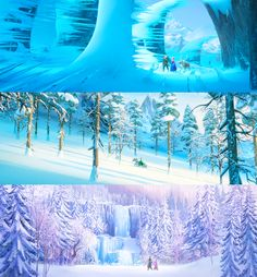 Frozen was beautifully animated and imagines the beauty of winter.