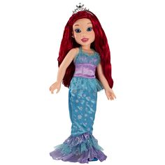 Adventurous and bold, Princess & Me Ariel loves to explore new places and collect secret treasures. But most of all, she loves having a friend like you. Whether you're styling Ariel's beautiful red hair, singing together to your favorite melody, or sharing secrets at bedtime, Ariel will always make you smile. Because that's what best friends do! Disney Princess & Me dolls let you live a royal lifestyle with your favorite princess!