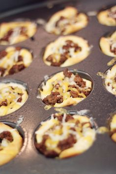 The Little Bitty Kitchen: BBQ Beef Cups
