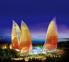 Rustam Jamilov's Blog FLAME TOWERS Baku