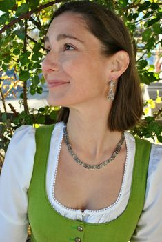 Filigranes Design, Elegant, Modern, Drop Earrings, Jewelry, Style, Fashion, Necklaces, Dirndl